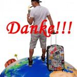 Backpacker in Australien feiert Geburtstag