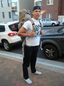 Backpacker in Australien Sebastian Krech