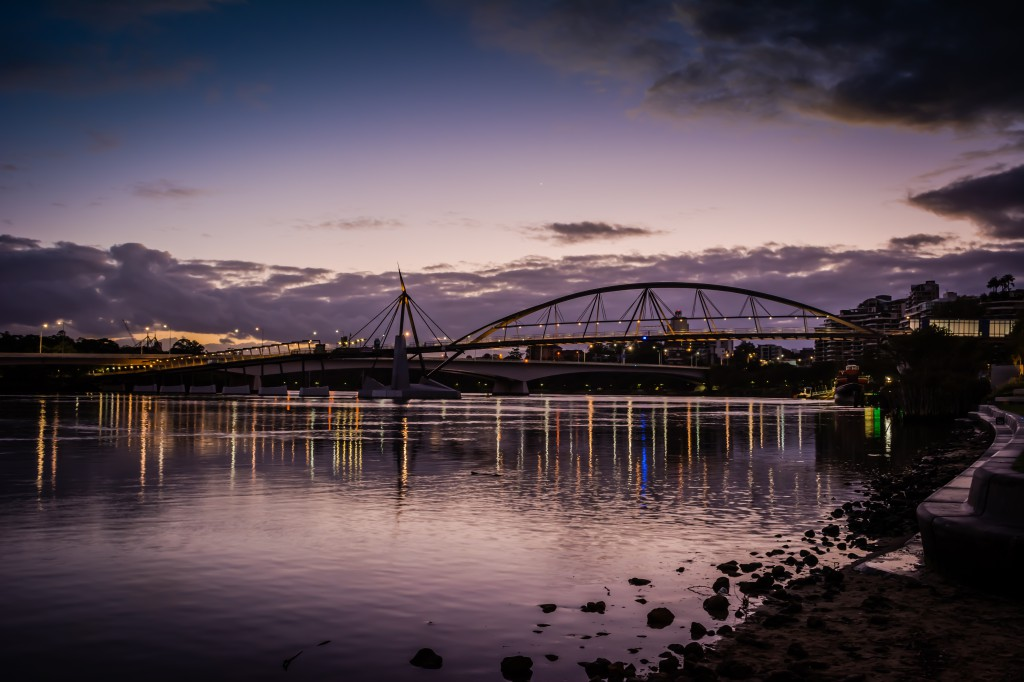 River Quay Sunsise