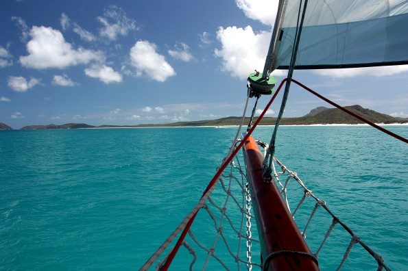 Australia, Whitsunday Island Turn
